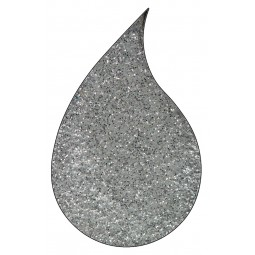 Metallic silver Sparkle embossing glitter : poudre embossage wow
