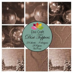 Kit papiers : Dixi toppers