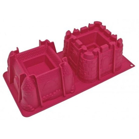 Moule silicone château fort