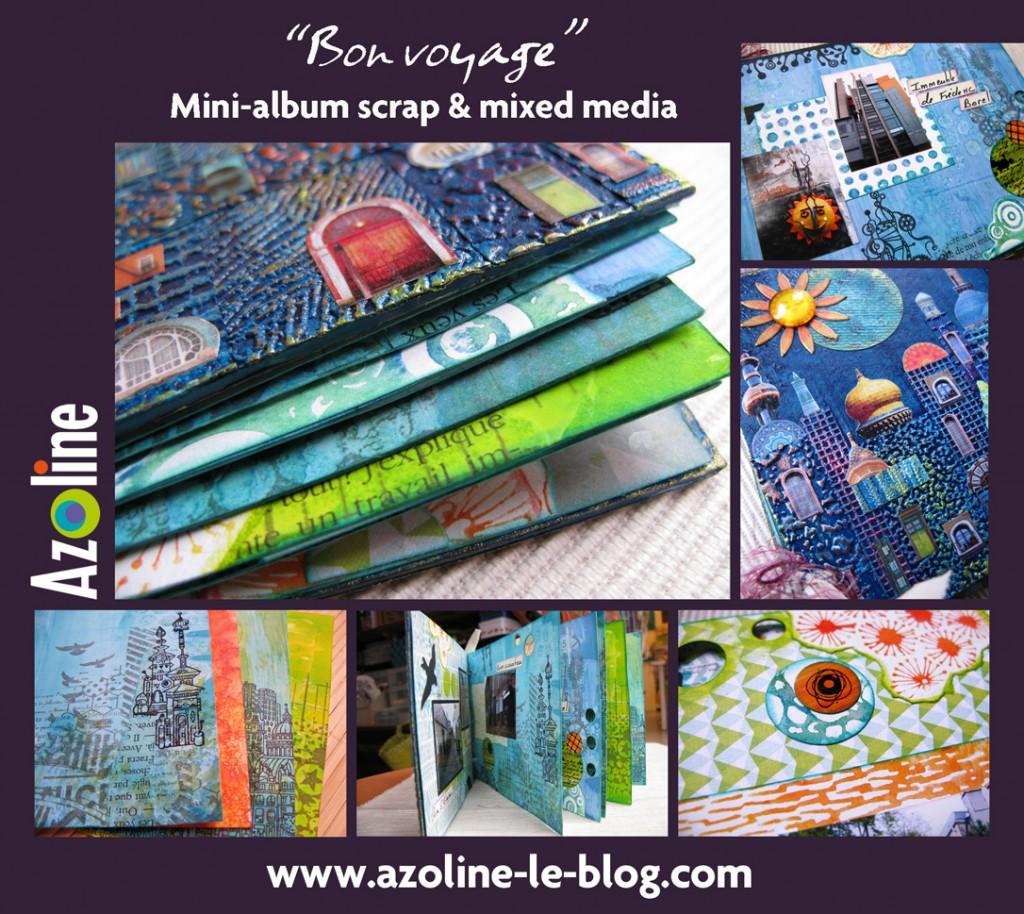 Affichette Mini voyage 2 BD
