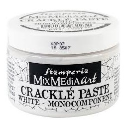Crackle paste  white -...