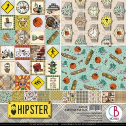 Pack papiers  - Hipster -...