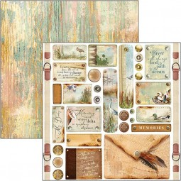 Feuille tags & buttons -...