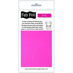 Fab foil - Pink - Wow