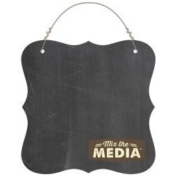 plaque mix media tableau -...