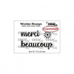 Tampon clear :  merci...