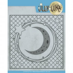 Star and moon frame -...