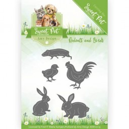 Rodents and birds - dies -...