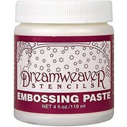 Embossing paste - blanche...