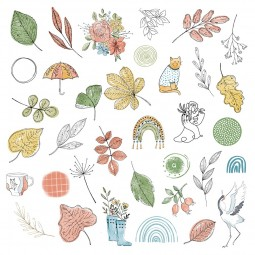 Die cuts calque- Collection...