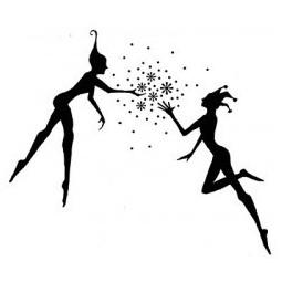 Fairies couple - tampon...