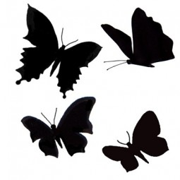 Butterflies - tampon clear...