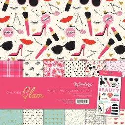 Pack papiers-  Glam - My  mind's eye