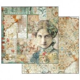 Pack papiers  -Time is an illusion - Stamperia