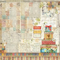 Pack papiers  - Patchwork- Stamperia