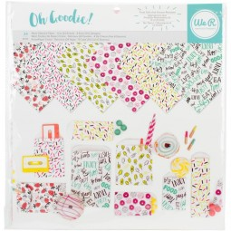 Kit de feuilles glassine : Oh Goodies de We R Memory Keepers