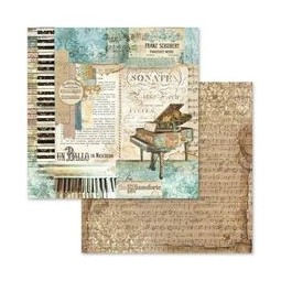 Pack papiers  - Music - Stamperia