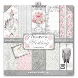 Pack papiers  - wedding - Stamperia