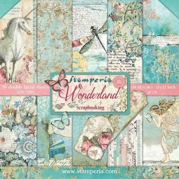 Pack papiers  - Wonderful - Stamperia