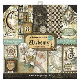 Pack papiers  - Alchemy - Stamperia