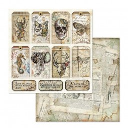 Pack papiers  - Mechanical Fantasy - Stamperia