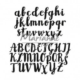 Alphabet Brush- matrice de...