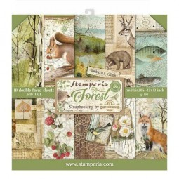 Pack papiers  - Forest 30 x...