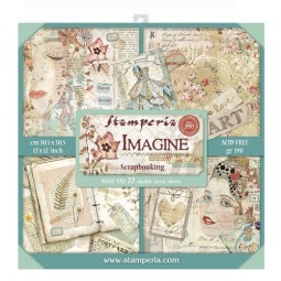 Pack 22 papiers  - Imagine...