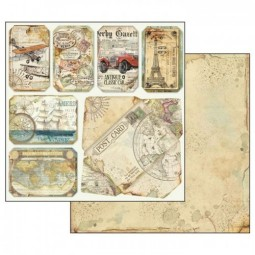 Pack papiers  - Around the World - Stamperia