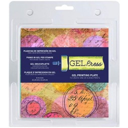 gel press  carrée 15.2 x...