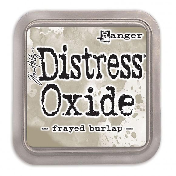 Oxide Frayed burlap