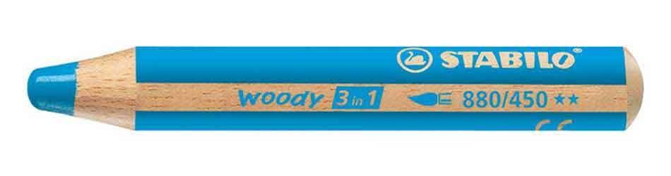 woody bleu clair
